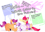 Hello-What Color is the Future? by Woogiegirl