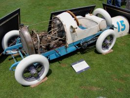 1915 Harley Davidson antique go-kart by Partywave