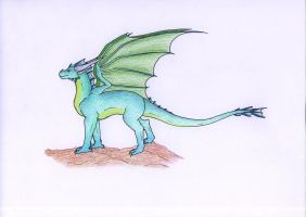 Dragon - colored by MuniaElena