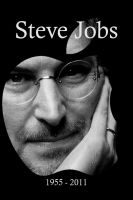Steve Jobs - iPhone 4S by wineass