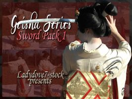 Geisha Sword PACK 1 by themuseslibrary