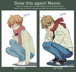 Meme  Before And After- Simon by Na-Han-Li