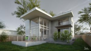 Modern house in  2012 Q4 by balazsdanka