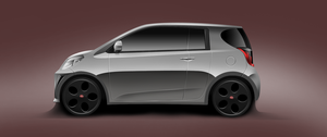 Toyota IQ Verso Concept by Bazil14