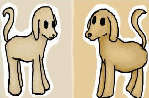 Dogs and iscribble. net by PandaGirl6