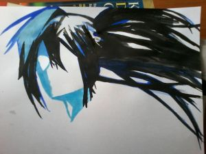 Black Rock Shooter by Slivax