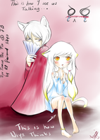 Yoru and Tomoe (FB) by Yoruni