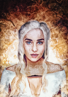 Mother of Dragons: GOT Competition by sophiecowdrey