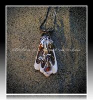 'Timeless treasure' silver pendant (SOLD) by seralune
