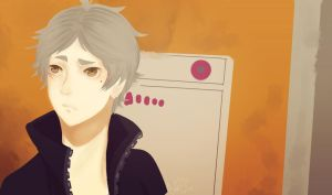 Screencap Redraw - Sugawara by UnicornsAreBeast