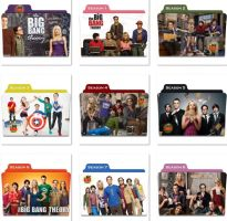 The Big Bang Theory Folder Icons by nellanel