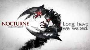 League of Legends Wallpaper - Nocturne by deSess