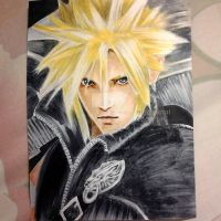 Final Fantasy VII: Advent Children - Cloud Strife by Nihonikitai