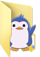 Request - Penguin No. 2 folder icon by ToonAlexSora007