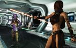 Jedi vs Sith - old by Dendory