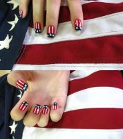 US nails by tharesek