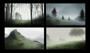 DAY 327. Sidhe - Thumbnails 3 by Cryptid-Creations