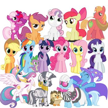 ... you're all my very best friends! by LeDissendium