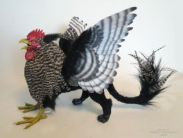 Chicken-Gryph by kimrhodes