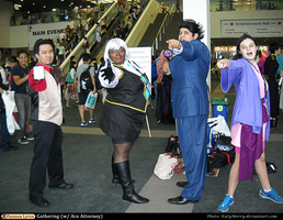 AX 2013: Ace Attorney by KatyMerry