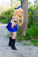 Lucy Heartfilia cosplay by InfinityAngel92