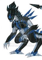 Queen the Alien Predacon by nazo677