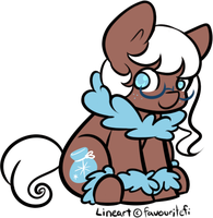 Snow Chibi Pony Adopt Auction CLOSED by favouritefi