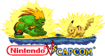 Blanka vs Pikachu Nintendo vs capcom by Riklaionel