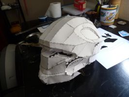 Halo 3 Recon Helmet WIP 3 by W4RH0US3