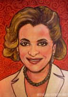 Stone Cold: Lucille Bluth by asamamoru