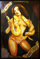 Snake Lady by WarBrown
