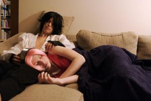 SasuSaku:: Dreaming Away by winged-maniac