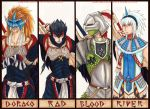 """MH:""""the Late Devils"""" members by MasamuneRevolution"""