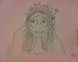 Corpse Bride - Emily by HopelessRomantic21