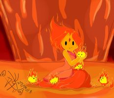 Flame Princess 1 by bakkaaaa