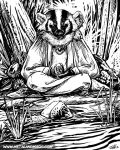 Zen Badger by ursulav