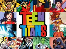 Teen Titans by HalloweenLover316