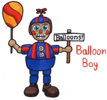 Balloon Boy by YouCanDrawIt