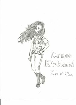 Danon Kirkland - First Drawing by RedDeathHots