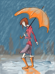 Like The Rain by QueenAravis