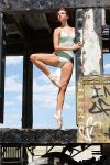 Dancer on a Train IV by HowNowVihao