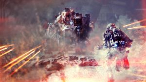 Titanfall Under Fire Wallpaper by adamt4050