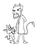Smeck and the Devil by battybuddy