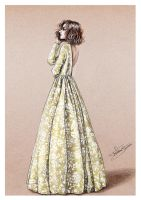 Delphine Manivet - fashion illustration by Tania-S