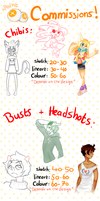 Point commissions! (Temporarily on hold!) by Hiccupping