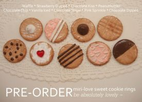 .PreOrder Cookie Rings. by Lii-chan