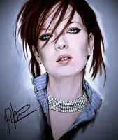 Shirley Manson by phoenixz38