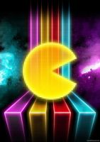 Poster - PacMan by romus91