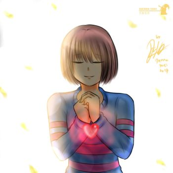 Innocent Frisk by Dienna-Yuki