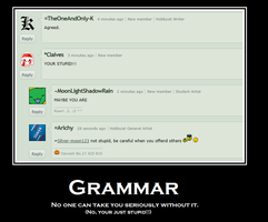 .: MP :: Grammar :. by NerinSerene
